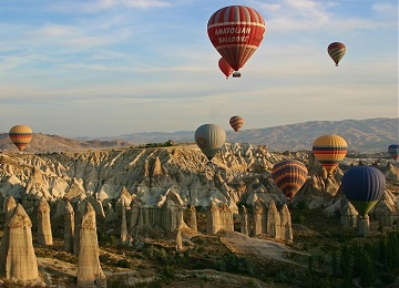 Turkey Tours from Istanbul by Plane