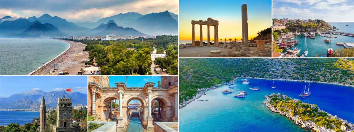 Daily Antalya Tours and Excursiones