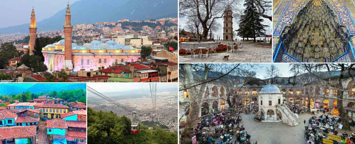 Everyday Daily Bursa Tour from Istanbul