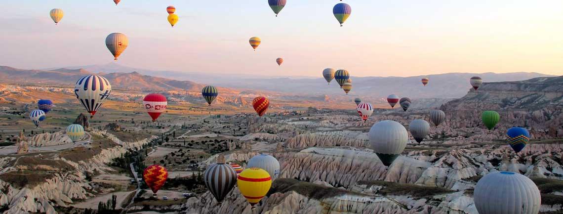 Cappadocia by Plane